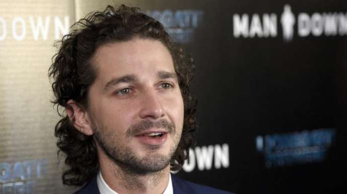 Beginning April 12, 2017, actor Shia LaBeouf is