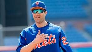 Mets infielder Neil Walker during a spring training