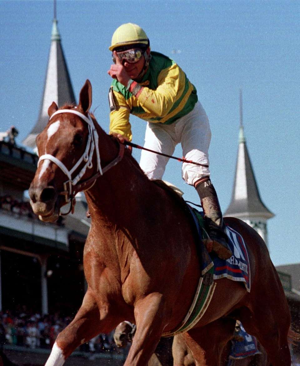 Former Kentucky Derby and Preakness Stakes winner Charismatic,