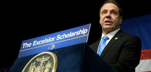 Gov. Andrew M. Cuomo announces his proposed