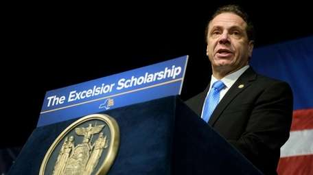 Gov. Andrew M. Cuomo announces his proposed