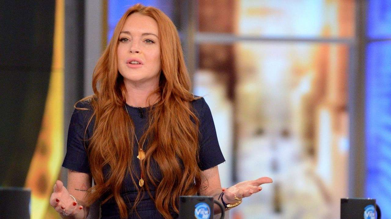 Lindsay Lohan discussed her interaction with Syrians displaced