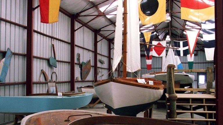A nautical scene at the Long Island Maritime