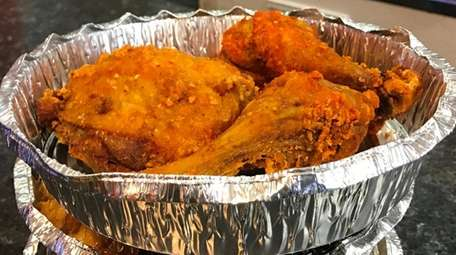Fried chicken was one of the specialties at