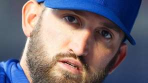 Jonathon Niese before the Mets played the San