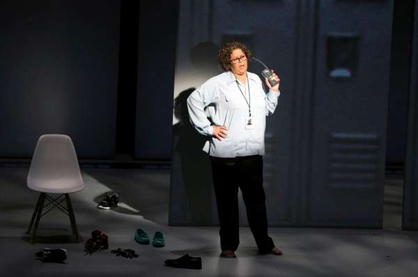 Anna Deavere Smith, here in