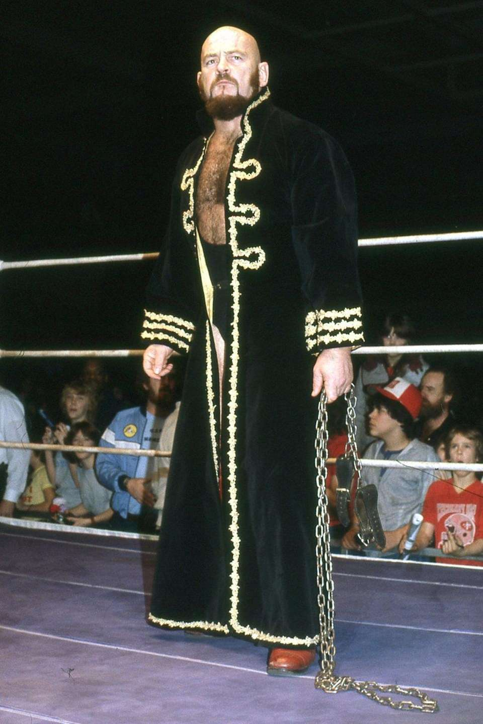 Ivan Koloff, the Canadian professional wrestler known as