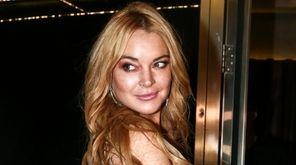 Lindsay Lohan claims she was