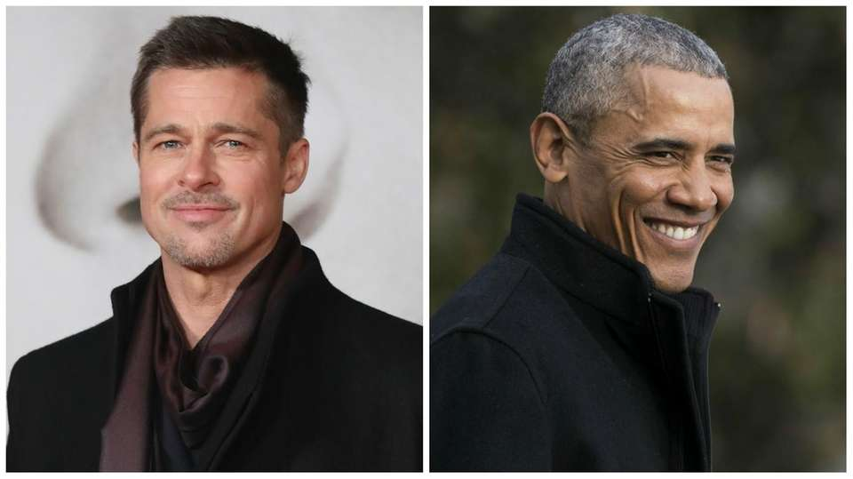 Actor Brad Pitt is reportedly the ninth cousin