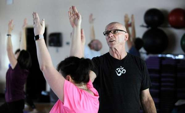 Instructor Ned McNamara, who had quadruple bypass surgery