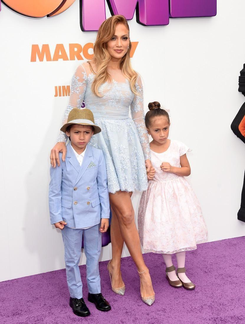 Jennifer Lopez and ex-husband Marc Anthony are parents