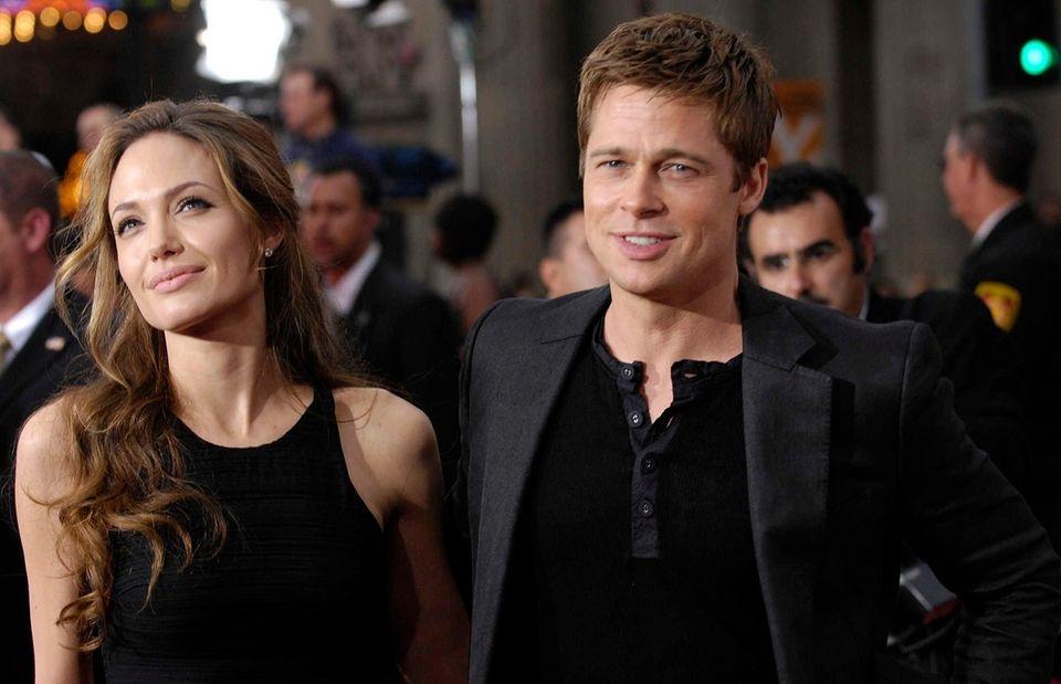 Angelina Jolie and estranged husband Brad Pitt's children