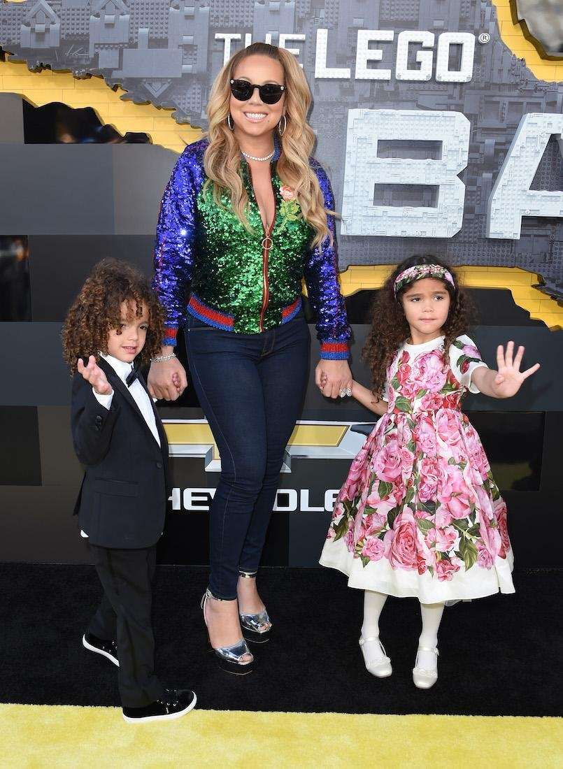 Mariah Carey has a set of twins with