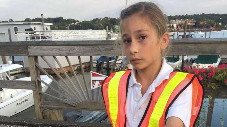 Kidsday reporter Tatum Stanziale does her part by