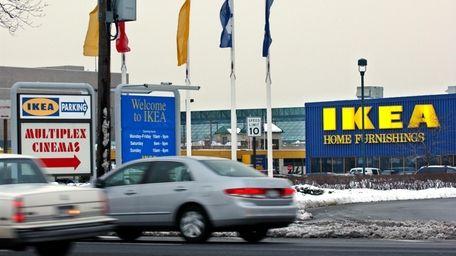 IKEA at Broadway Mall in Hicksville.