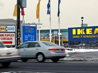 IKEA at Broadway Mall in Hicksville.