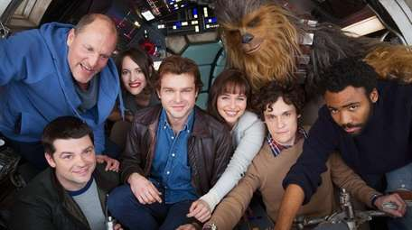 Filming on the untitled Han Solo