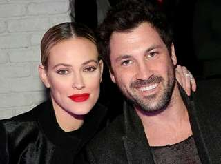 Peta Murgatroyd and Maksim Chmerkovskiy attend a New