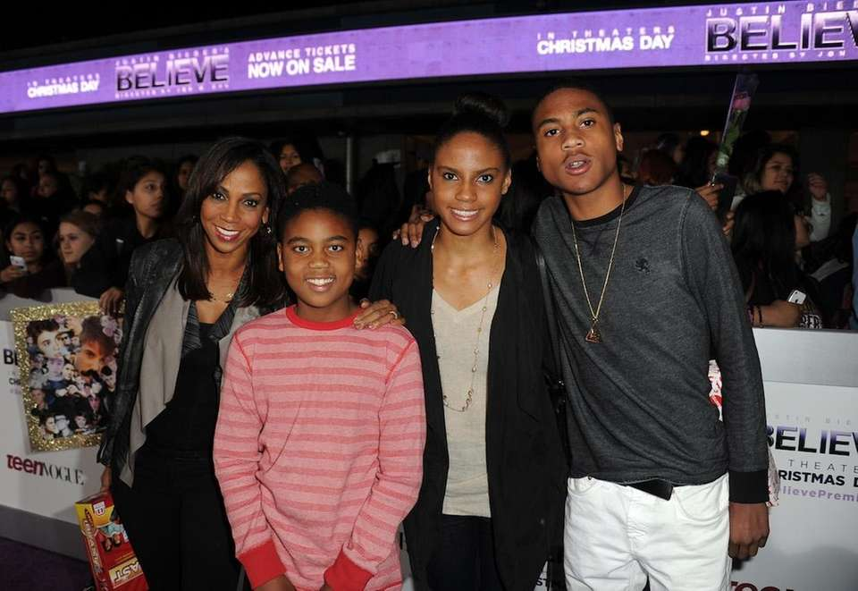 Holly Robinson Peete and Rodney Peete have four
