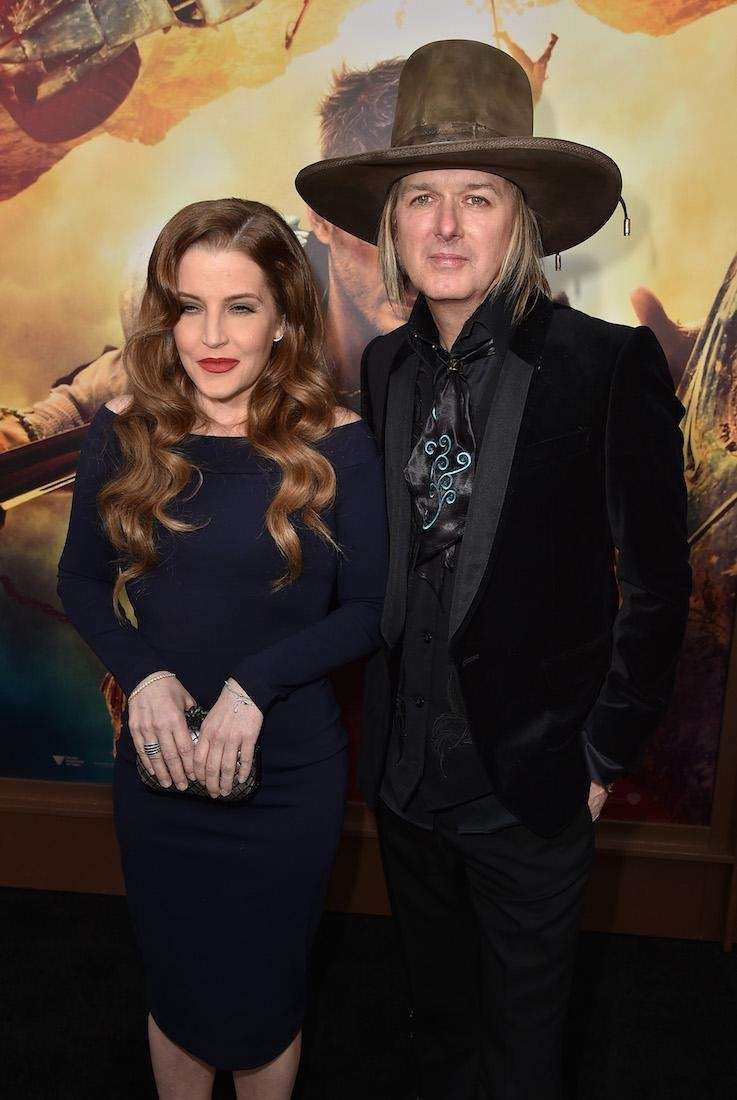 Lisa Marie Presley and estranged husband Michael Lockwood