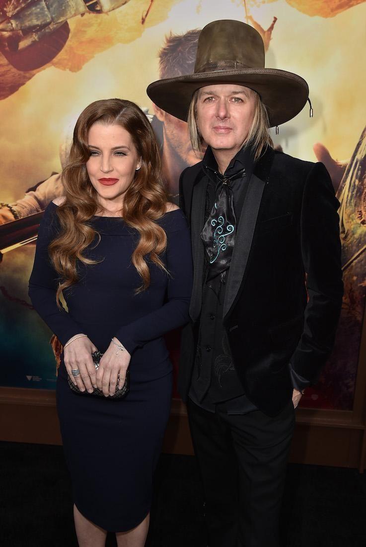 Lisa Marie Presley and estranged husband Michael Lockwood