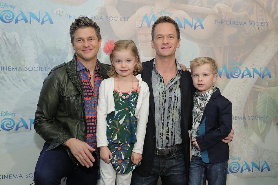 Neil Patrick Harris and David Burtka are parents