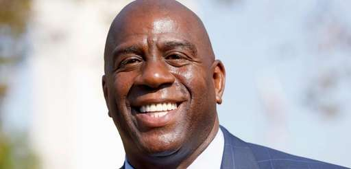 Magic Johnson is the Los Angeles Lakers' new