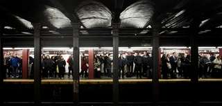 The MTA said annual subway ridership in 2016