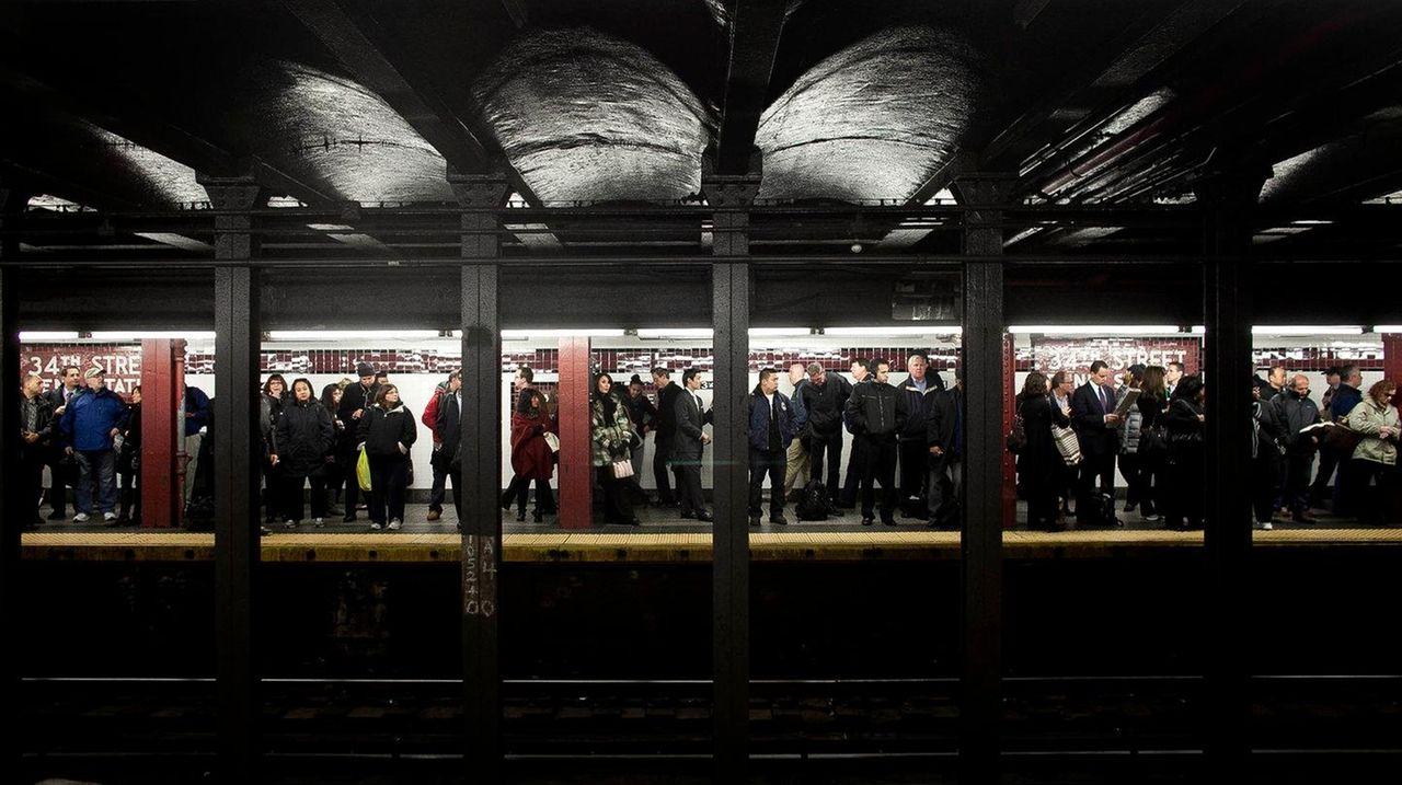 The MTA said annual subway ridership in 2016