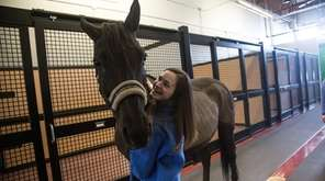 Kristen McGowan with Messina, a 7-year-old Hanoverian, a
