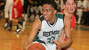 Brentwood's Jason Feliz, who had 19 points and