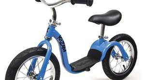 The purpose of the pedal-free KaZAM bicycle is
