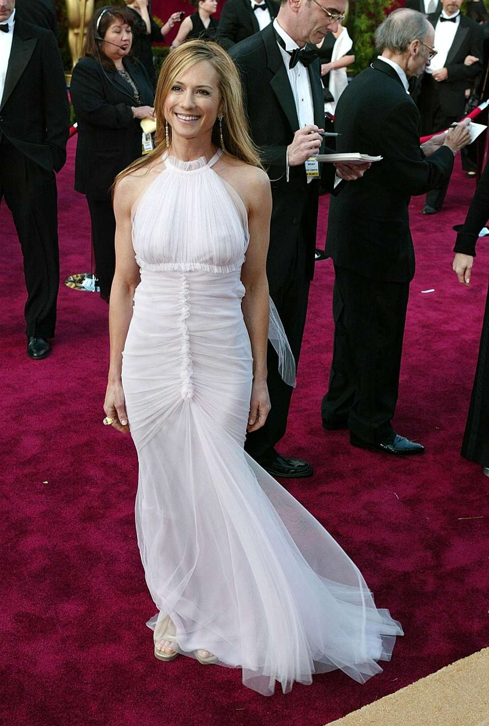 Holly Hunter attends the 76th Annual Academy Awards