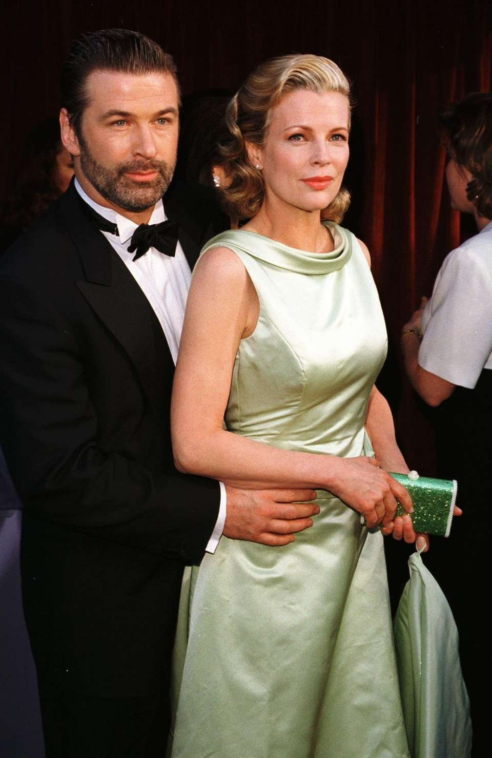 Kim Basinger and her then husband actor Alec
