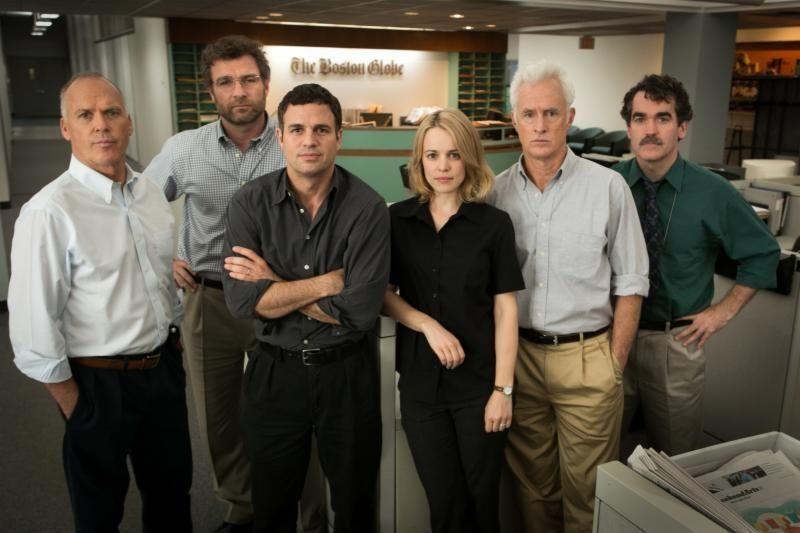 Cast: Michael Keaton, Liev Schreiber, Mark Ruffalo, Rachel
