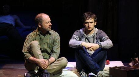 Daniel Jenkins, left, and Brandon Flynn in the