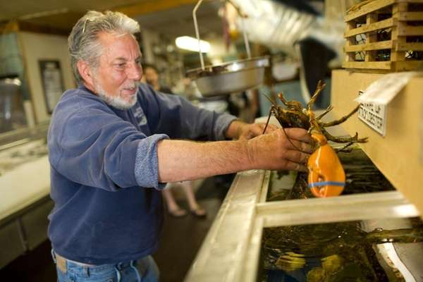 Artie Hoerning, owner of Artie's South Shore Fish