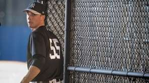 Yankees pitcher Bryan Mitchell at spring training at