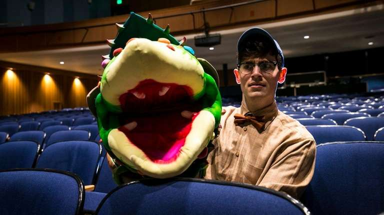 Audrey II, the carnivorous plant in