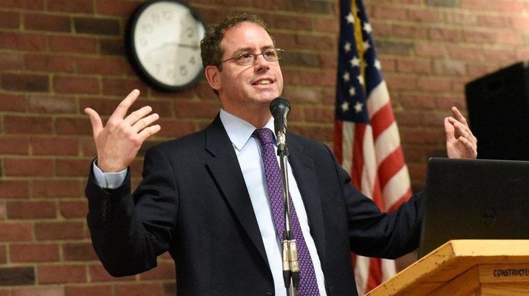 Robert A. Lofaro, mayor of the Village of