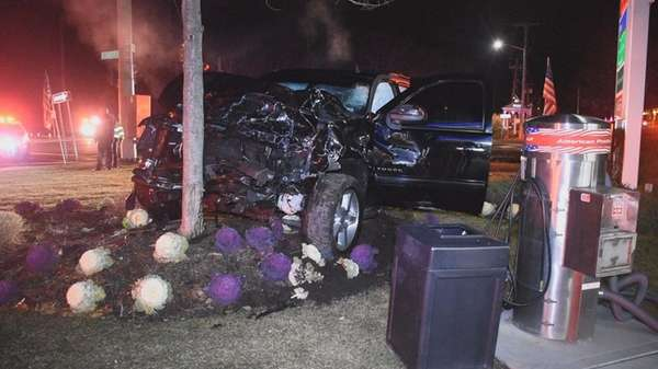A motorist sustained serious injuries after being ejected