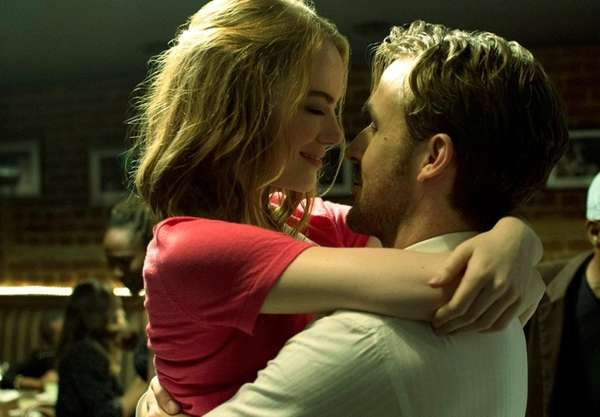 Emma Stone and and Ryan Gosling as Sebastian