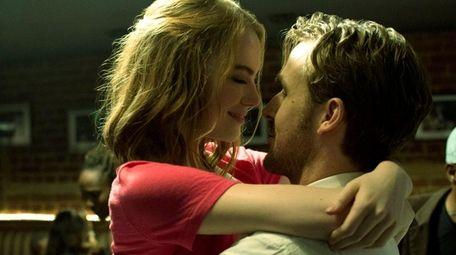 Emma Stone and and Ryan Gosling as Sebastian