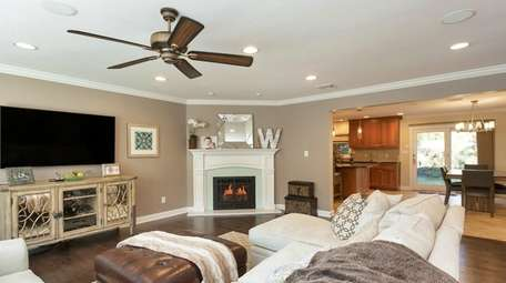 This four-bedroom Syosset Colonial is listed for $999,000