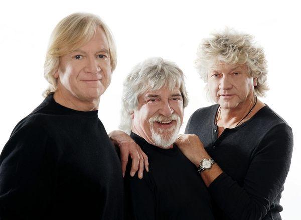 The Moody Blues -- from left, Justin Hayward,