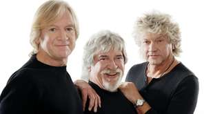 The Moody Blues -- from left, Justin Hayward,