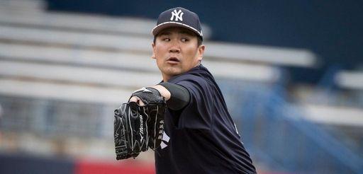 New York Yankees' Masahiro Tanaka looks sharp at