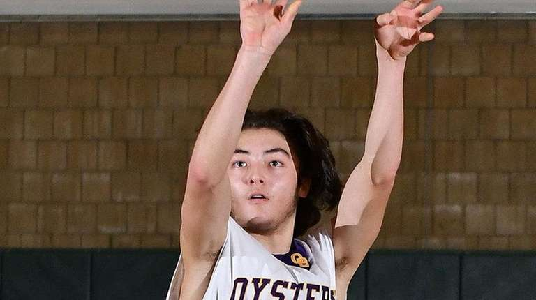 Devon Marmorale of Oyster Bay shoots from beyond