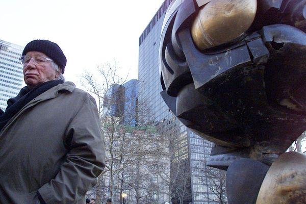 It took Fritz Koenig four years to sculpt