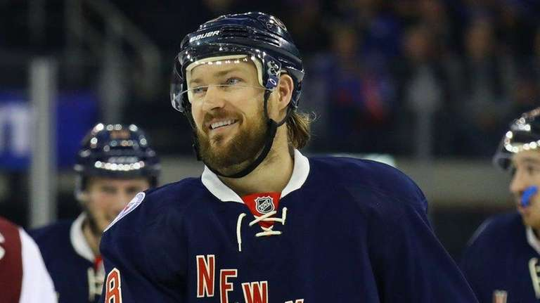 Kevin Klein #8 of the New York Rangers